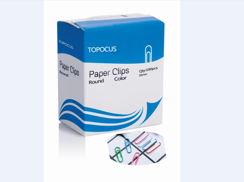 ROUND SHAPE PAPER CLIPS-COLOR