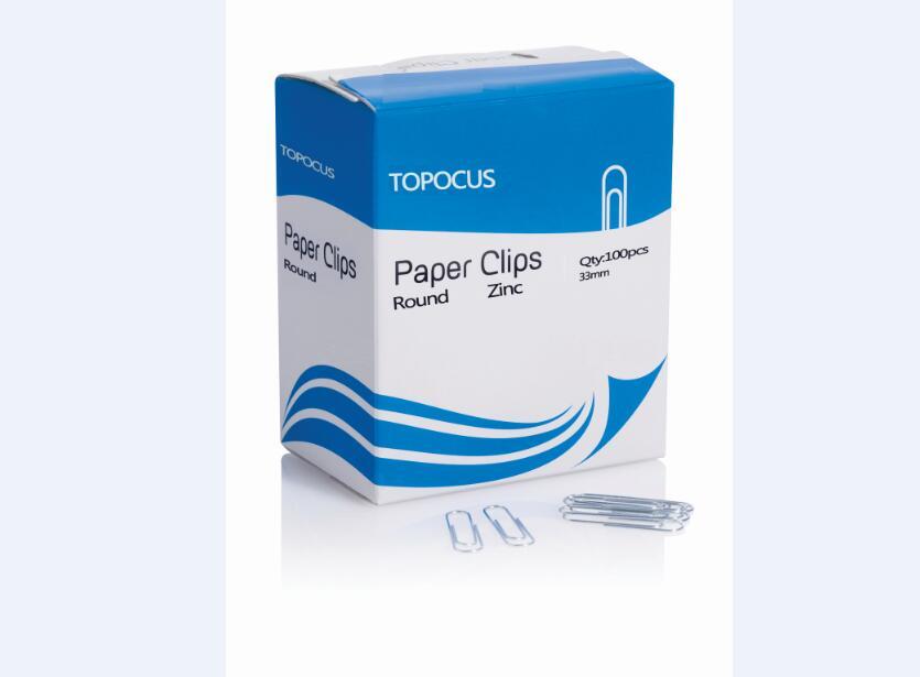 ROUND SHAPE PAPER CLIPS-ZINC